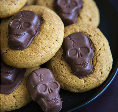 easy halloween pumpkin cookies